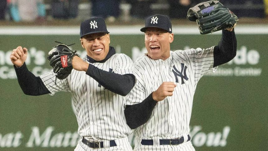 new-york-yankees-sluggers-aaron-judge-and-giancarlo-stantons-best-hrs-as-told-by-their-teammates